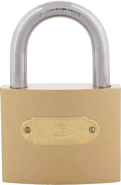 Standard Choice Hardened Lock Gold (Pack of 1) Padlock