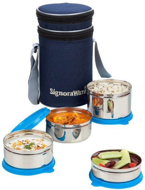 Signoraware Executive 4 Containers Lunch Box