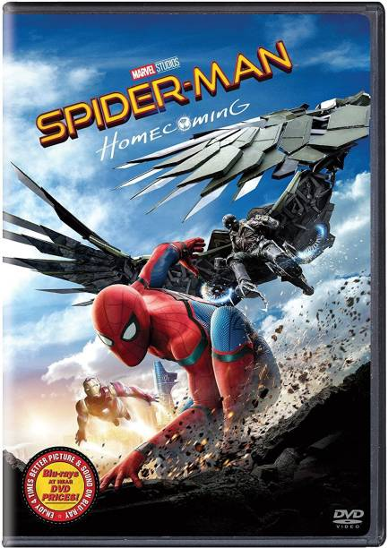 Spider-man: Home coming DVD