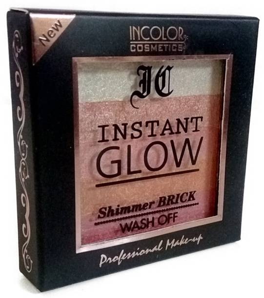 INCOLOR INSTANTGLOW SHIMMER BRICK WASH OFF(07 PEACH POP)