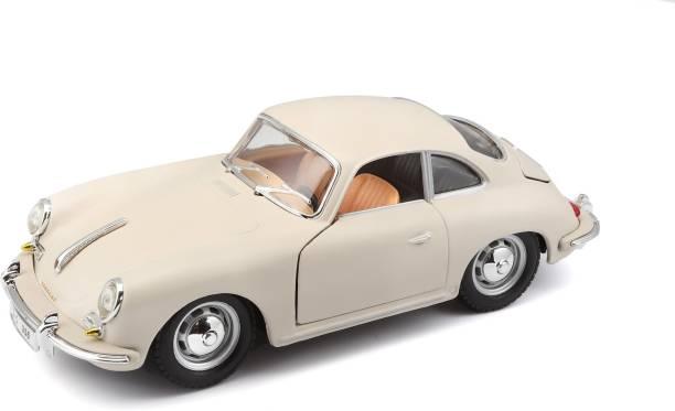 Bburago Die-Cast 1:24 Scale Porsche 356B Coupe (1961) Car