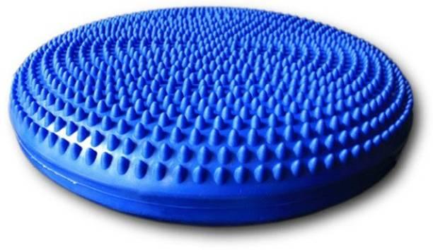 IRIS Inflated Stability Blue Balance Mat with Hand Pump Balance Disc Fitness Balance Board