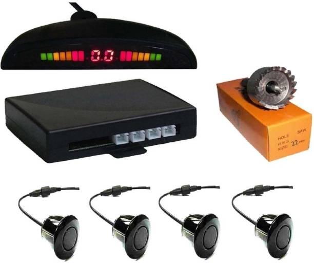 AuTO ADDiCT AAU1 Premium Make Car Black Parking Reverse Sensors For all cars - Set of 4 Pcs Parking Sensor
