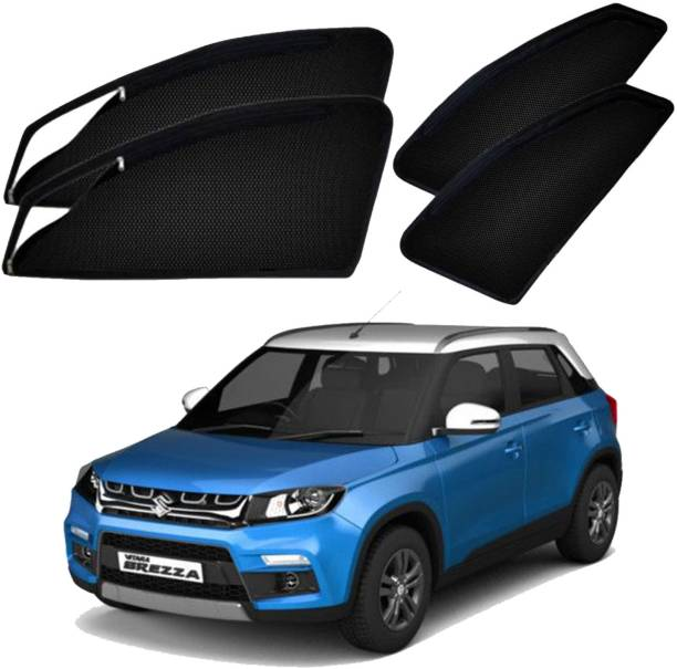 UK Blue Side Window Sun Shade For Maruti Suzuki Vitara Brezza