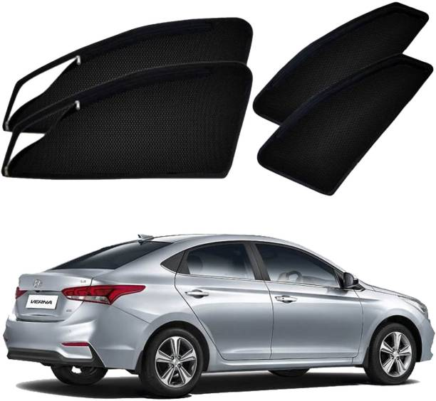 UK Blue Side Window Sun Shade For Hyundai Verna