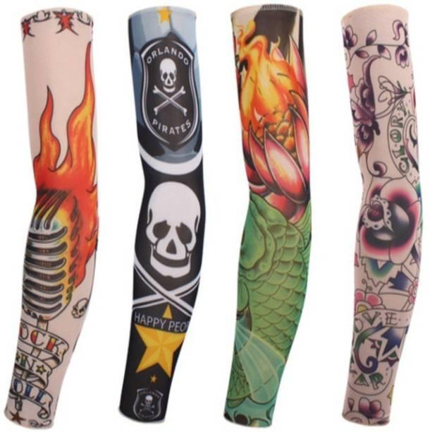 Nevyaonline Nylon Arm Sleeve For Boys With Tattoo