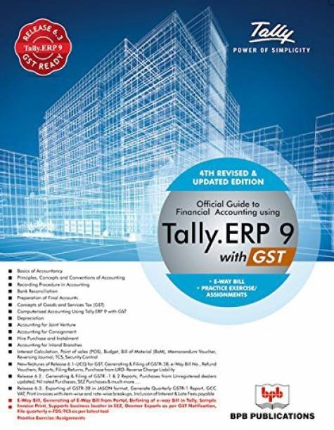Now Official Guide to Financial Accounting Using Tally.ERP 9