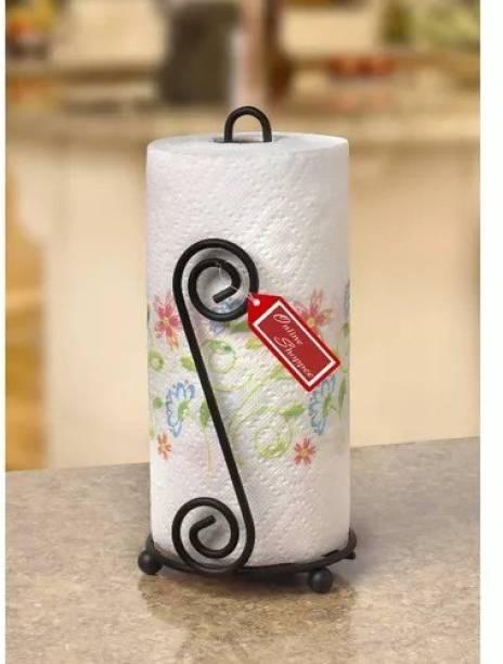 Onlineshoppee Kitchen Toilet Tissue Roll Dispenser Iron Toilet Paper Holder
