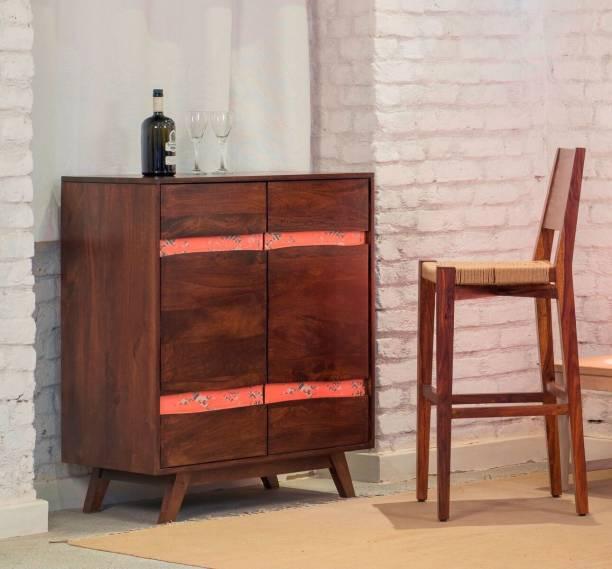 The Jaipur Living Mombassa Bar Solid Wood Bar Cabinet