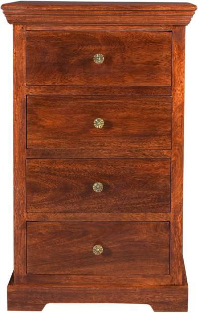 Saffron Art and Craft Solid Wood Free Standing Chest of Drawers