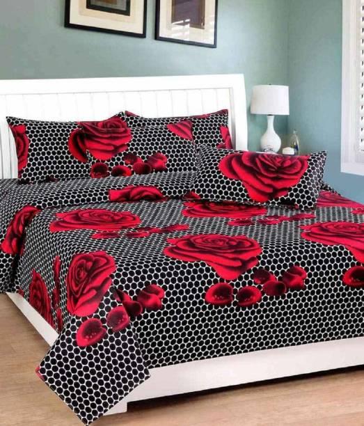 New panipat textile zone 190 TC Polycotton Double Printed Bedsheet