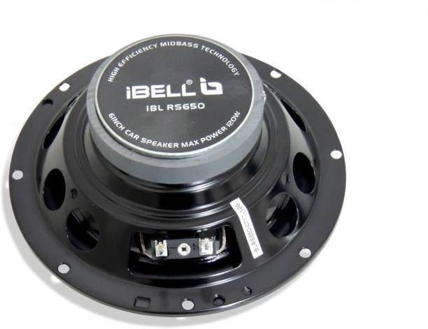 26735ba2d2a iBELL 120W 6 inch 4 Way Coaxial Speaker (Black) IBL RS650 Coaxial Car  Speaker