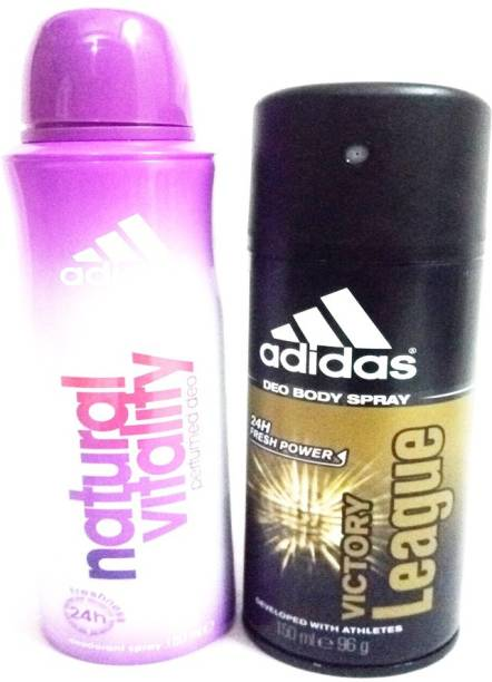 ADIDAS NATURAL VITALITY AND VICTORY LEAGUE Deodorant Spray  -  For Men & Women