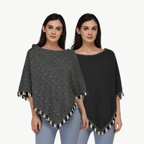 Ponchos - Buy Poncho Tops / Pochu Dress Online for Women at Best ...