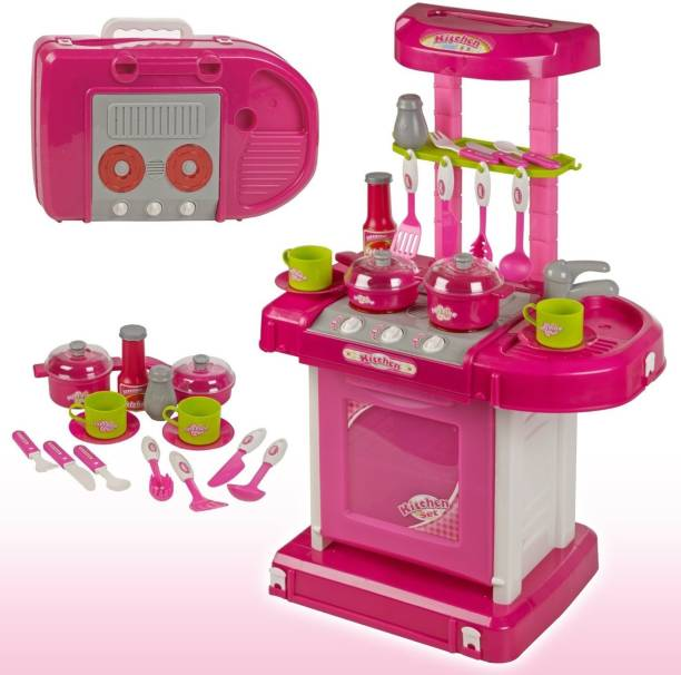 Miss Chief Kitchen Set With Light And Music Without Basket