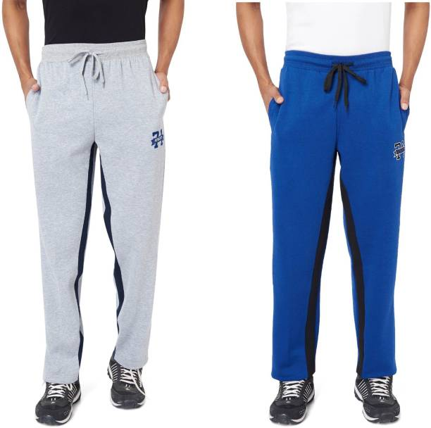 10f878b053b Price -- High to Low. Newest First. Athlete Solid Men's Grey, Dark Blue  Track Pants