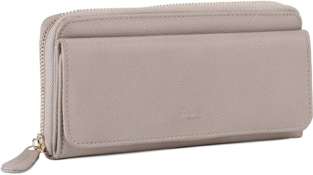 Allen Solly Women Grey Artificial Leather Wallet