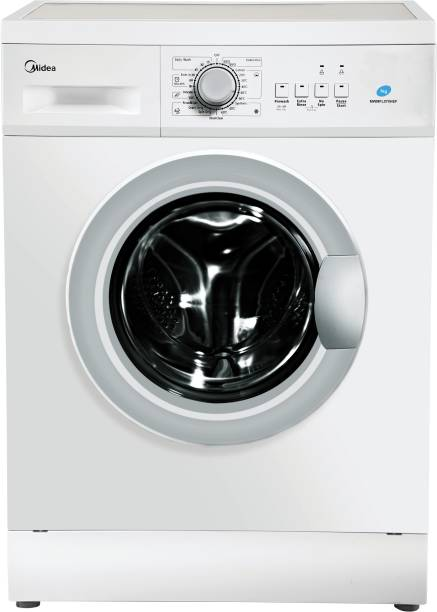 Midea 7 kg Fully Automatic Front Load with In-built Heater White