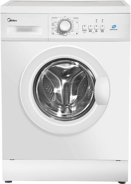 Midea 6 kg Fully Automatic Front Load with In-built Heater White
