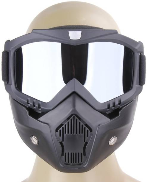 Auto Hub Protective Bike Riding Face Mask, Face Shield Motorcycle Goggles Motorcycle Goggles