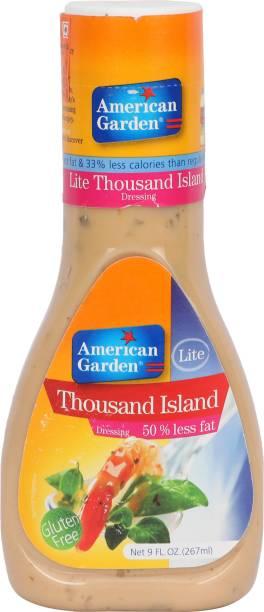 American Garden Lite Thousand Island Dressing Sauce