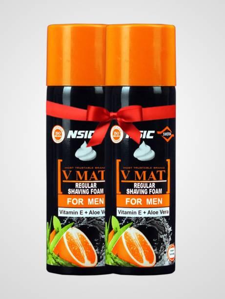 v mat Shaving Foam 400 g 2 Pack