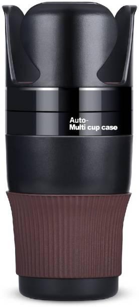 Royalkart Car Cup Holder, 5 in 1 Multi-Functional Holds Mugs Organizer ,Adjustable
