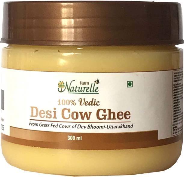 Farm Naturelle Pure Desi Cow Ghee from A2 Milk 300Ml Ghee 300 ml Plastic Bottle