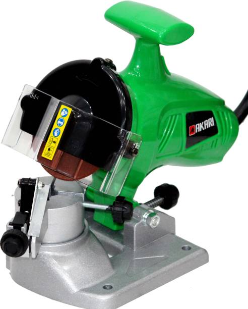 Digital Craft 180W Electric Bench Top Chainsaw Blade Chain Sharpener with Sharpening Grinding Wheels Angle Grinder
