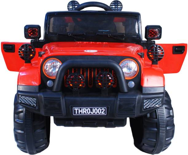 Toyhouse Off Roader Rechargeable jeep with remote for kids (2 to 6 yrs) Jeep Battery Operated Ride On