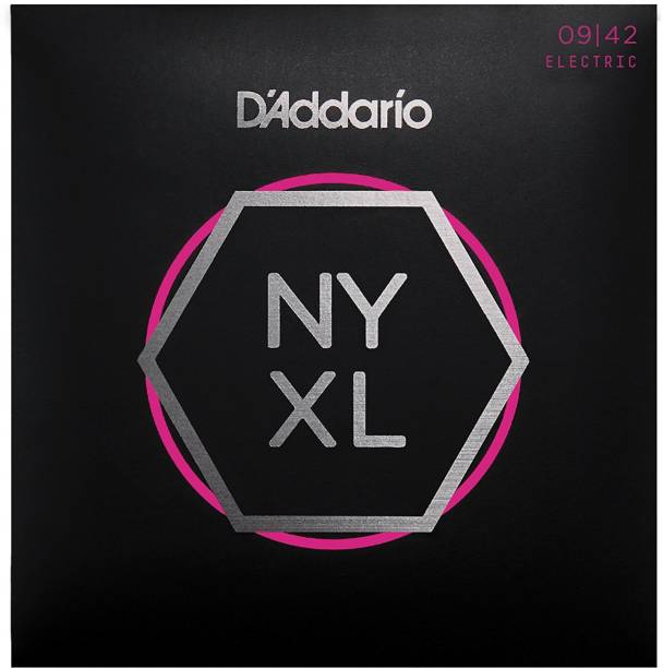 D'ADDARIO Electric NYXL0942 Nickel Plated Electric Guitar Strings, Extra Light BY CAI MUALS Guitar String