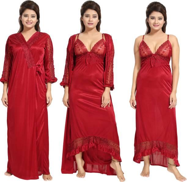 Noty Women Nighty with Robe