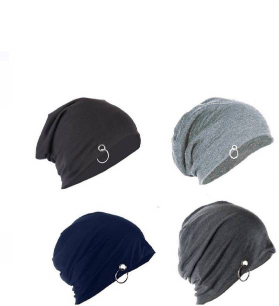 a4d88c468a0 Ray Way Solid Ring Beanie Cap