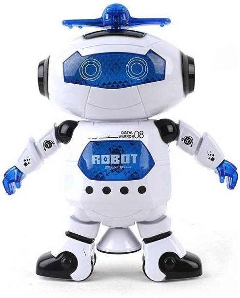 Generic Naughty Dancing Robot With 3D Light Music Batteries Oprated