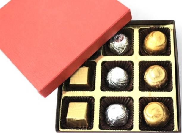 Zoroy Luxury Chocolate Delite box of 9 Fudges