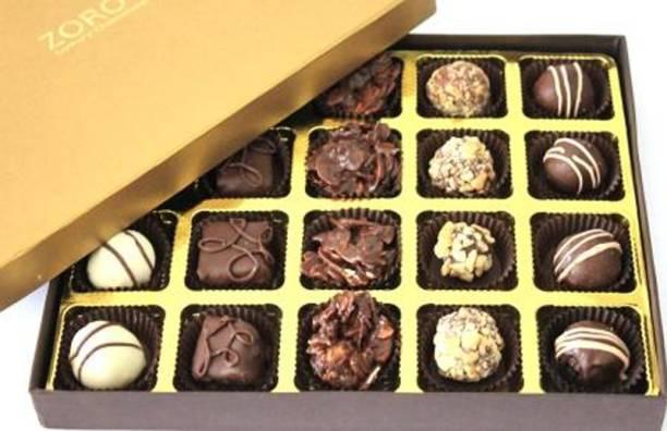 Zoroy Luxury Chocolate Signature box of 20 Fudges