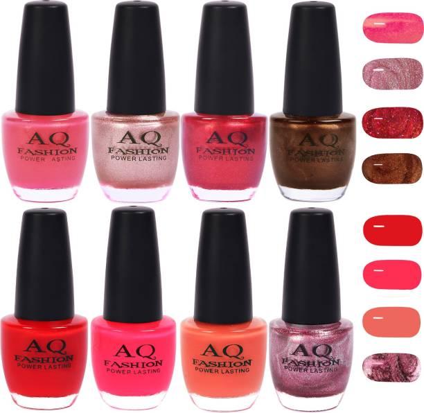 AQ FASHION Gorgeous Shade Nail Polish Set 1013 Multicolor