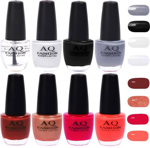 AQ FASHION Gorgeous Shade Nail Polish Set 1010 Multicolor