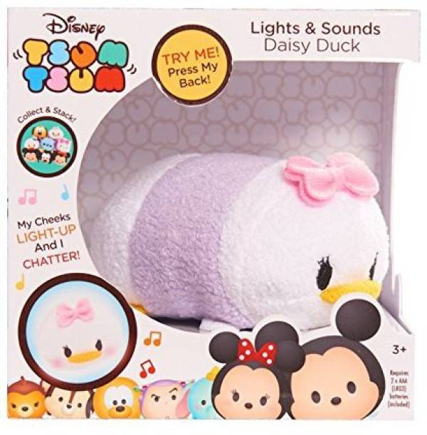 Tsum Tsum Disney Lights & Sounds Daisy Plush