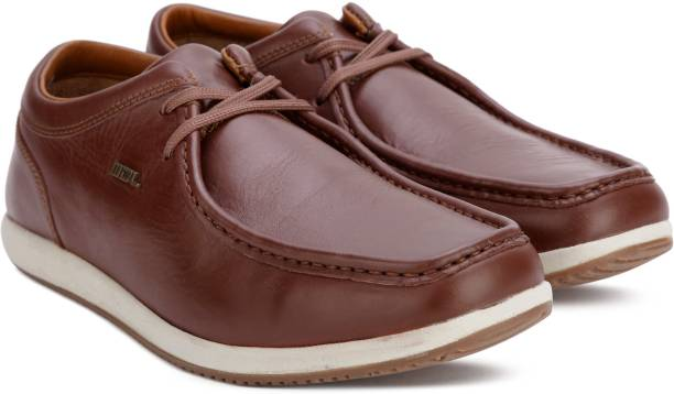 Woodland Leather Casual For Men