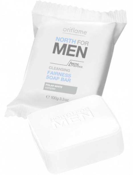 Oriflame North For Men Cleansing Fairness Soap Bar 100G Each Set Of 2