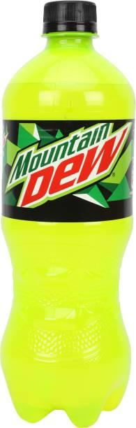 Mountain Dew Plastic Bottle