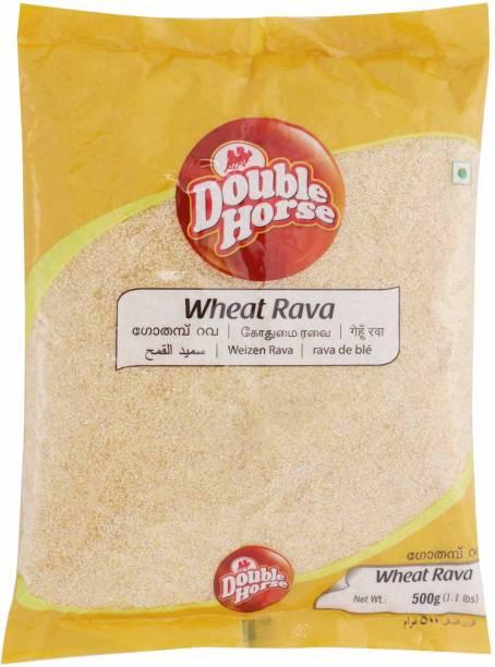 Double Horse Wheat Rava
