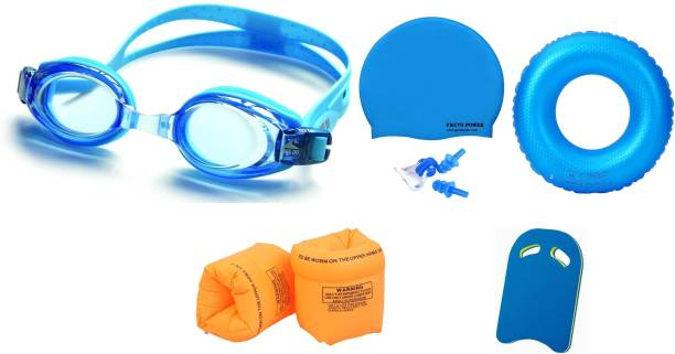 505edc5d91e FACTO POWER ASSORTED COLOR GOGGLES, CAP WITH EAR, NOSE PLUG, 80 CENTIMER  TUBE