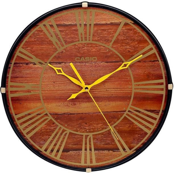 CASIO Analog 34.5 cm X 34.5 cm Wall Clock