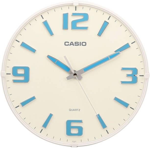 CASIO Analog 30.8 cm X 30.8 cm Wall Clock