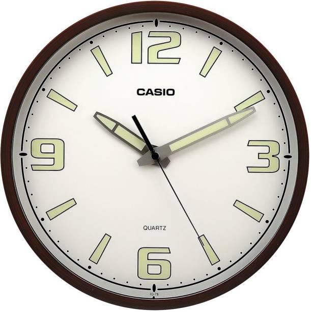 CASIO Analog 43 cm X 30.5 cm Wall Clock