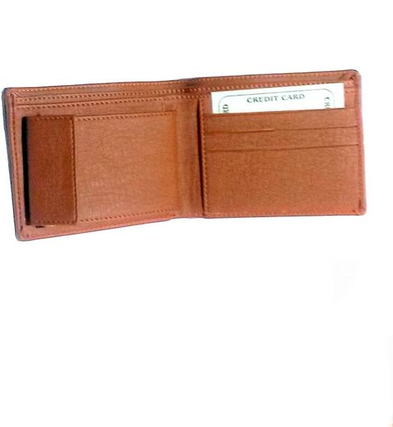 MK Boys Brown Genuine Leather Wallet