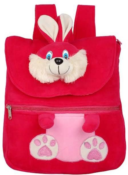 DZert School Bag For Kids Rabbit Soft Plush Backpack For Small Kids Nursery  Bag (Age 5e9bfabf7027f