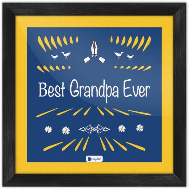 Grandparents Anniversary Gift Grandfather Birthday For Granddad Grandpa Wall Decoration